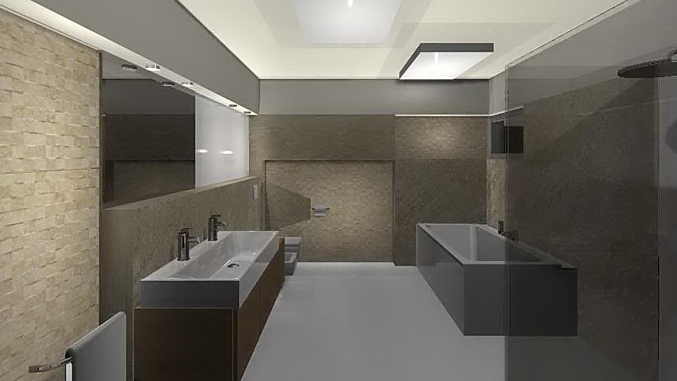 nowoczesna łazienka projekty Częstochowa