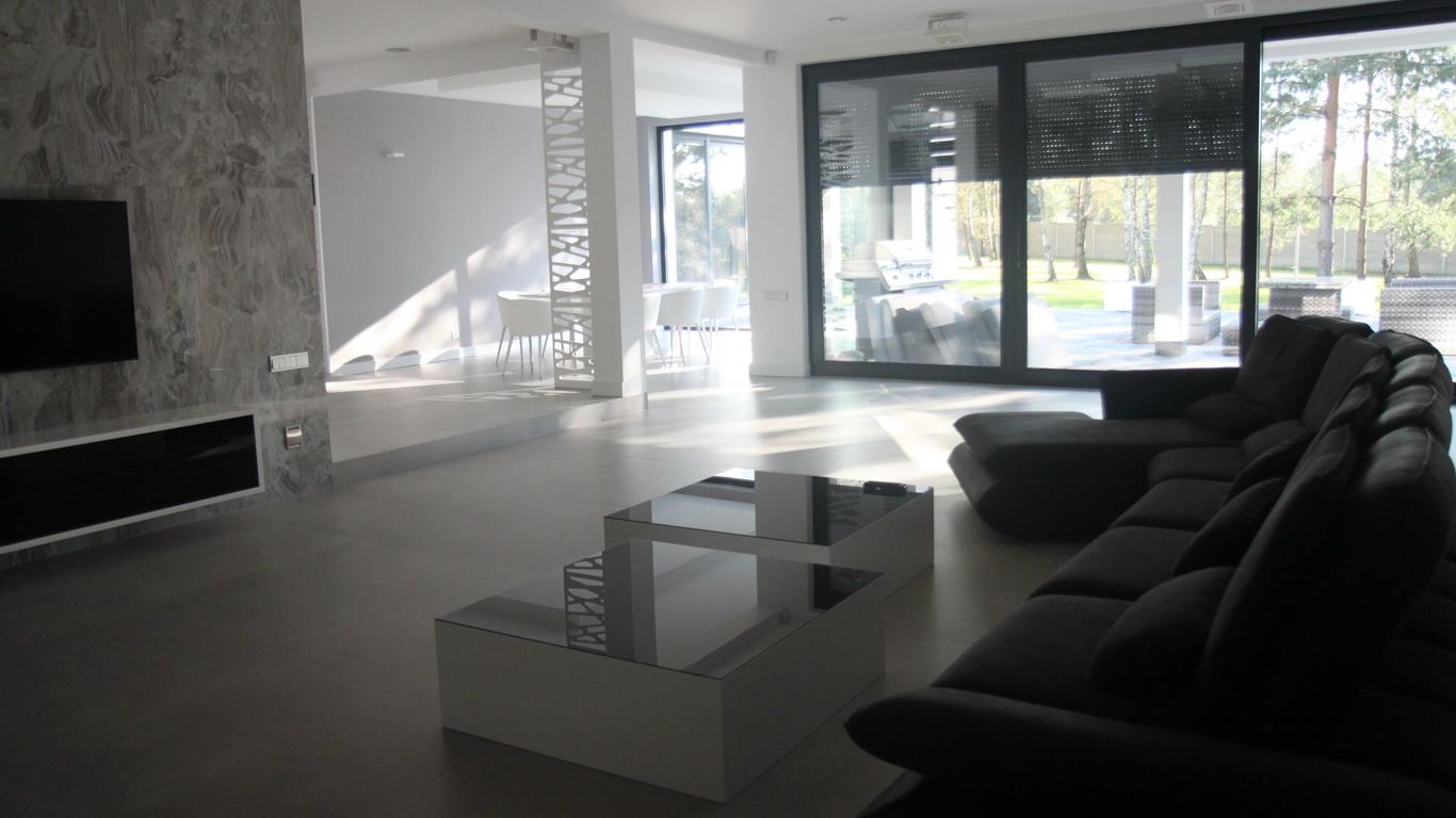 Projekt wnętrza salonu Częstochowa
