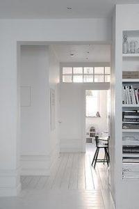 białe wnętrza inspiracje
