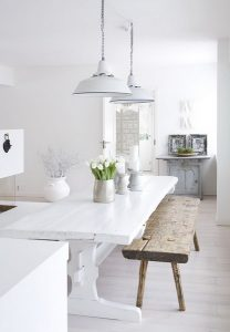 białe wnętrza mieszkań