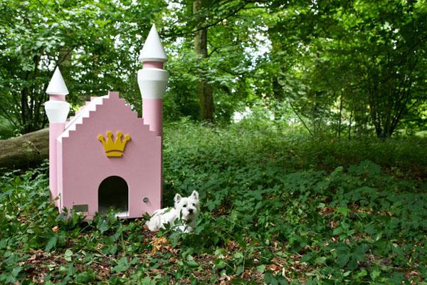 domek dla małego psa