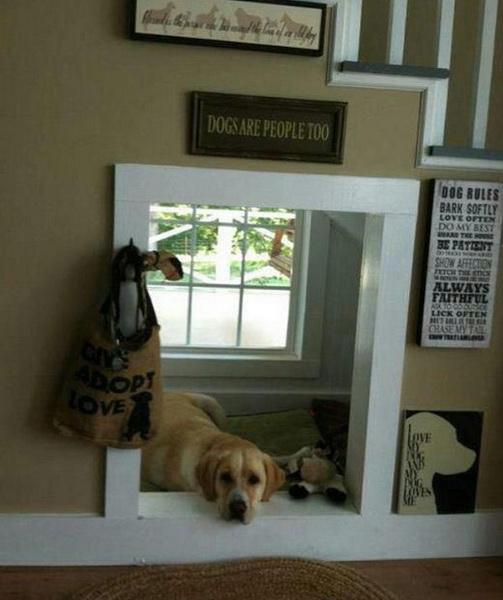 domek dla psa z materiału