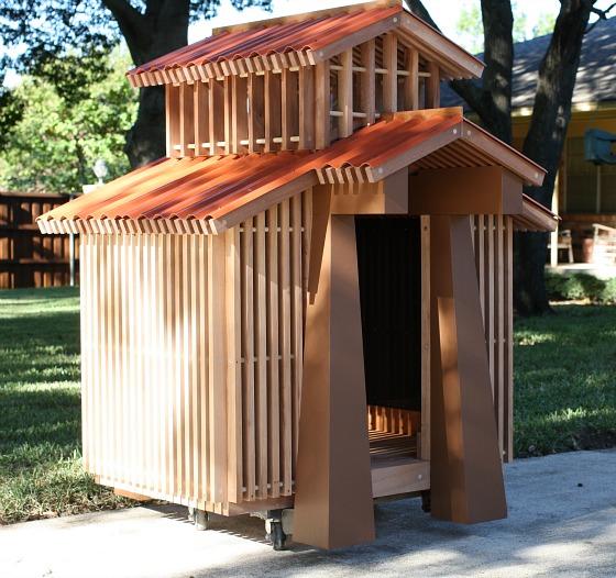 domki dla psów