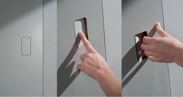 drzwi równo ze ścianą