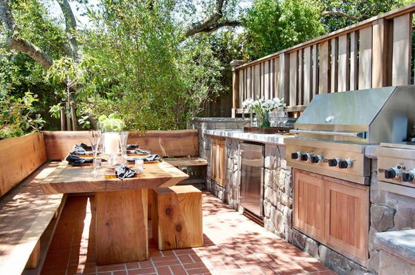 Kuchnia letnia na wsi