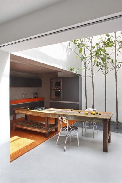 Kuchnia letnia w ogrodzie