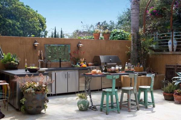 Kuchnia ogrodowa projekt