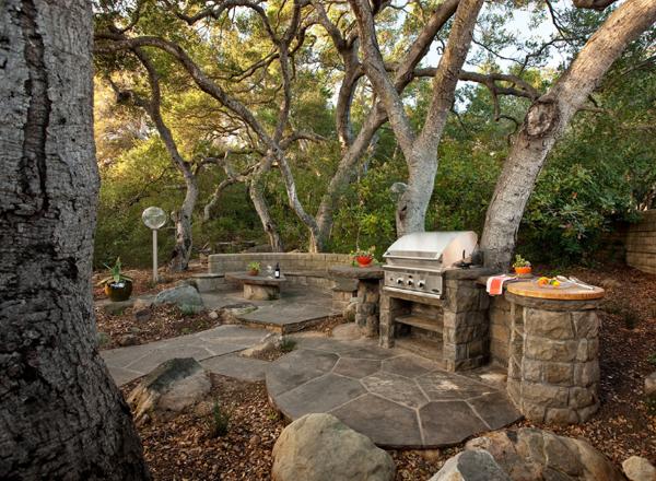 Kuchnia ogrodowa projekty