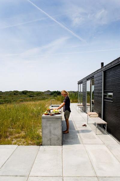 Kuchnie ogrodowe projekty