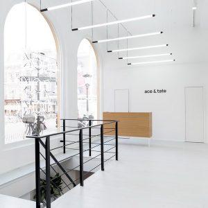 nowoczesne białe salony