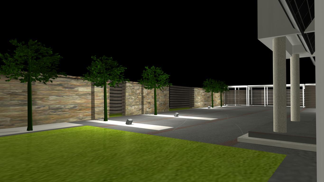 nowoczesne ogrody projekty