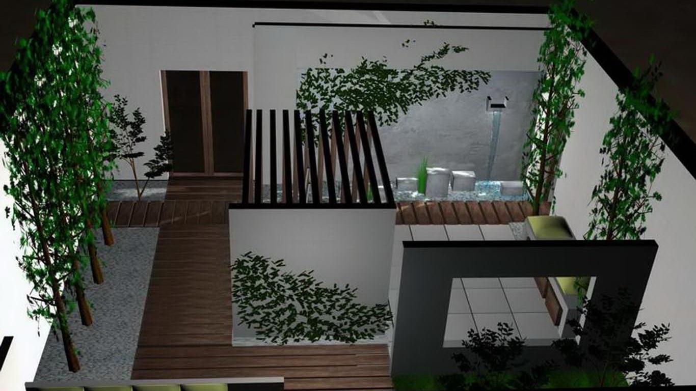aranżacja patio