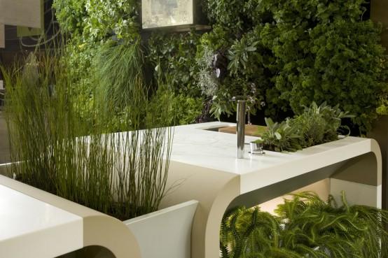 Ogrodowe kuchnie letnie