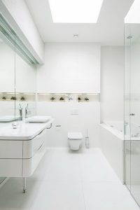 pokój białe meble