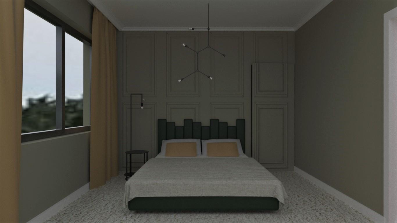 Sypialnia elegancka