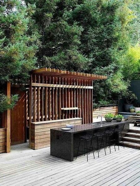 Projekt domu z kuchnią do ogrodu
