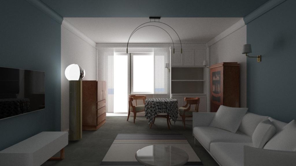 Projekt mieszkania w Częstochowie