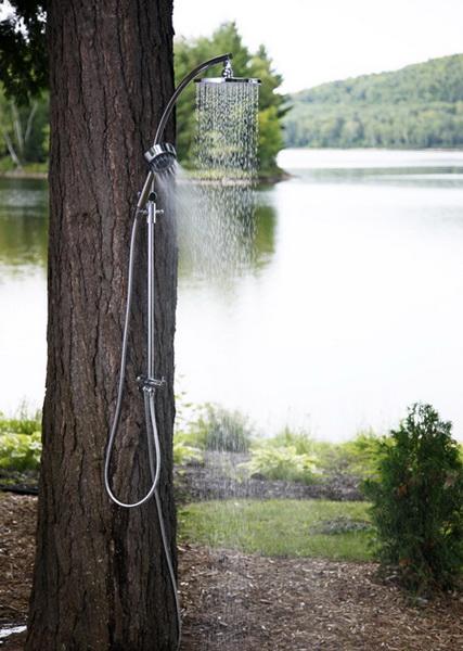 prysznic ogrodowy