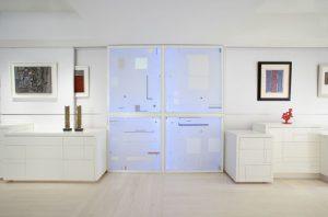 salon na biało