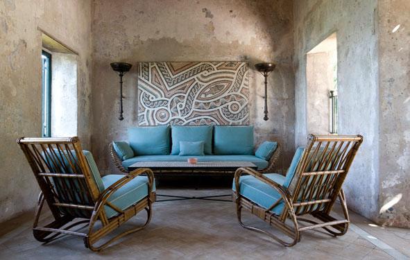 salon w stylu marokańskim