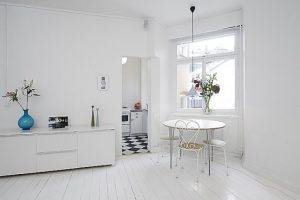 salony w bieli
