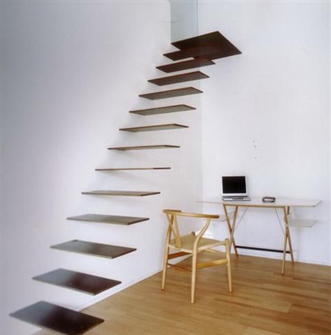 schody wewnątrz domu