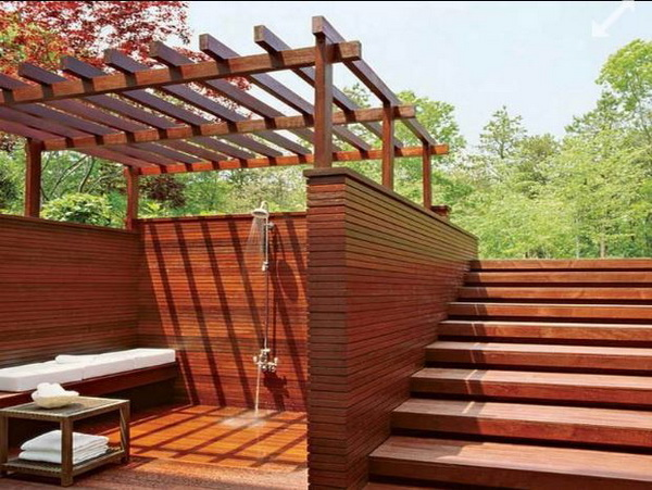 solarny prysznic ogrodowy
