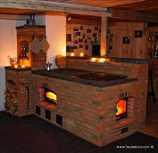 Stare kuchnie kaflowe