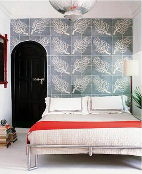 sypialnia w stylu marokańskim