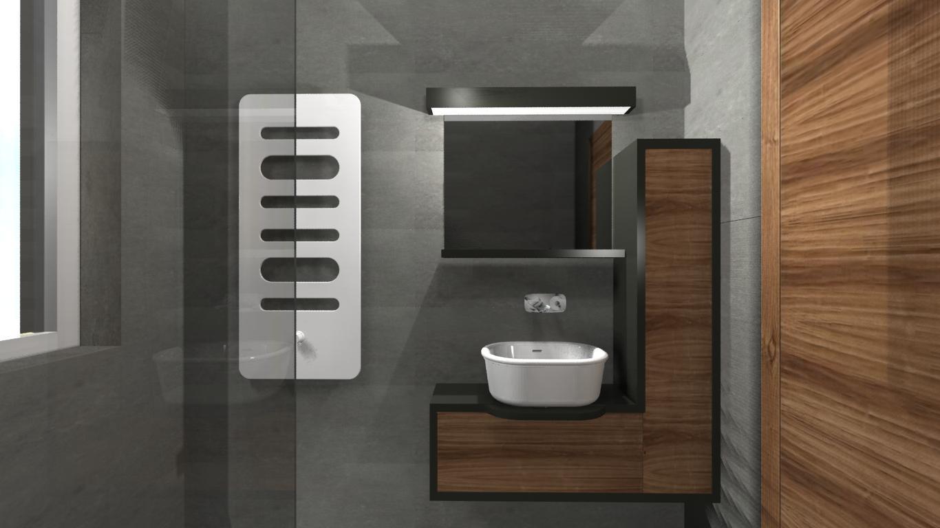 elegancka łazienka projekty