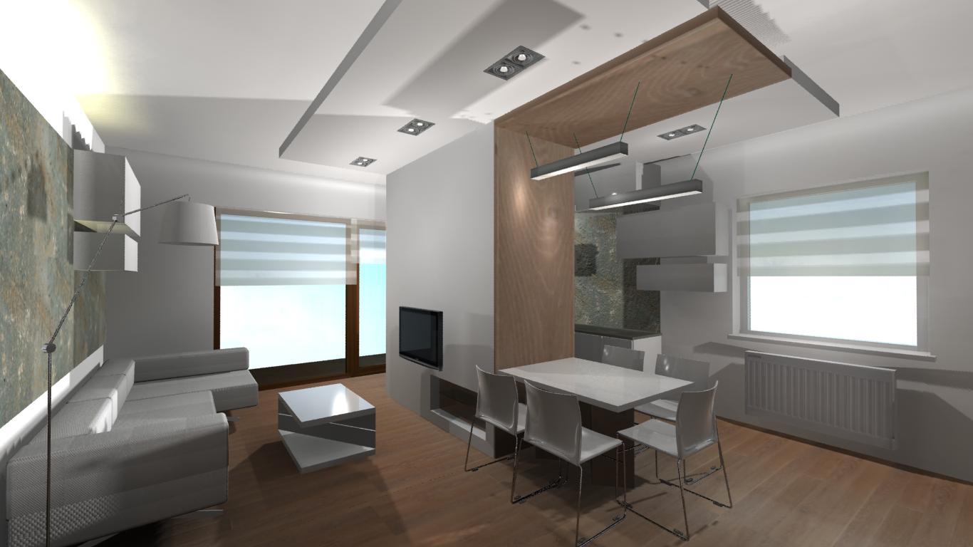 nowoczesne projekty mieszkań