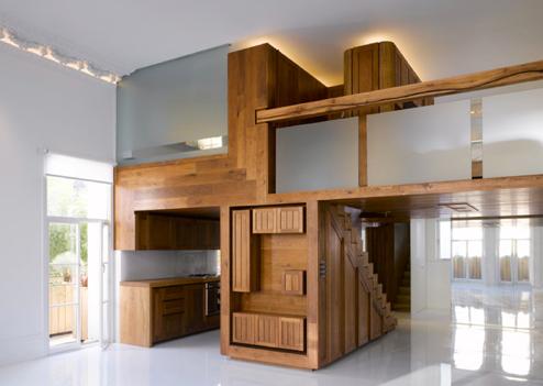 wnętrza w stylu loft
